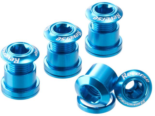 Reverse Kettenblattschrauben alloy light blue